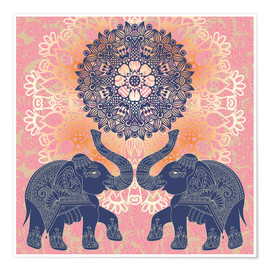 Póster  Elephant love