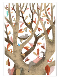 Póster  In the Tree No 2 - Judith Loske