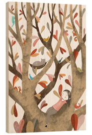 Madera  In the Tree No 2 - Judith Loske