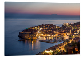 Cuadro de metacrilato  Dubrovnik at Sunset - Mike Clegg Photography
