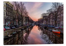 Cuadro de metacrilato  Amsterdam Canals at Sunrise - Mike Clegg Photography