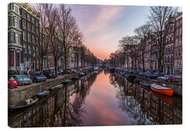 Lienzo  Amsterdam Canals at Sunrise - Mike Clegg Photography