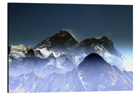 Cuadro de aluminio  Everest summit - Gerhard Albicker