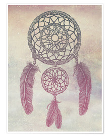 Póster Dream Catcher Rose