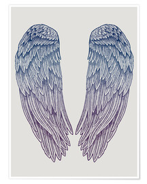 Póster Angel Wings