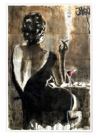 Póster  Cocktail - Loui Jover