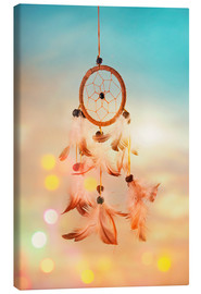 Lienzo  Dream catcher and abstract bokeh background - Elena Schweitzer