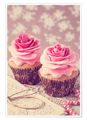 Póster Two cupcakes