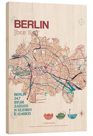 campus graphics - Mapa de Berlín