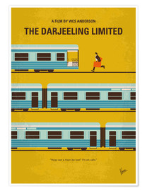 Póster  The Darjeeling Limited - chungkong