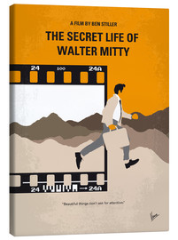 Lienzo  No806 My The Secret Life of Walter Mitty minimal movie poster - chungkong
