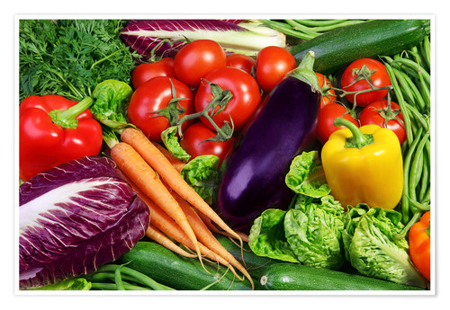 Póster Vegetables