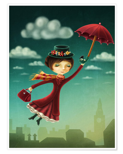 Póster Mary Poppins