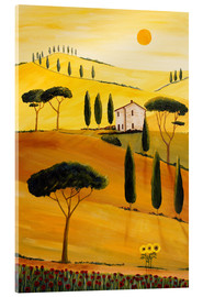 Cuadro de metacrilato  Colored Tuscany - Christine Huwer