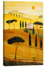 Lienzo  Colored Tuscany - Christine Huwer