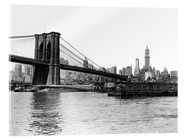 Cuadro de metacrilato  Brooklyn Bridge