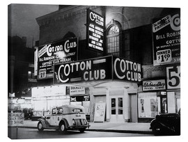 Lienzo  Cotton Club en Harlem, Nueva York