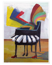 Póster  Piano Music 2 - Diego Manuel Rodriguez