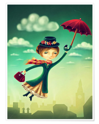 Póster Marry Poppins
