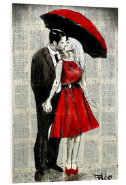 Forex  she wore red - Loui Jover