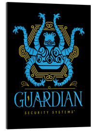 Cuadro de metacrilato  the guardian security - Barrett Biggers