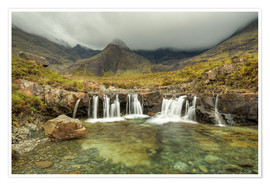 Póster Fairy Pools, Isle of Skye, Scotland