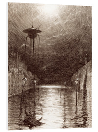 Forex  Martian Machine Over the Thames - Henrique Alvim Correa