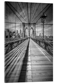 Metacrilato  NEW YORK CITY Brooklyn Bridge - Melanie Viola