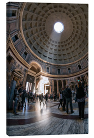 Lienzo  The Pantheon in Rome, Italy - Jan Christopher Becke