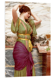 Cuadro de PVC  A fair reflection - John William Godward