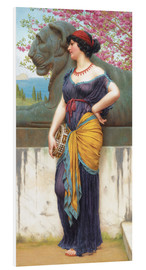 Cuadro de PVC  In the grove of the Temple of Isis - John William Godward