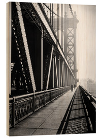 Madera  Manhattan Bridge 1936 - Christian Müringer