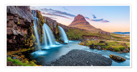 Póster  Magical Iceland, Waterfall on Snaefellsnes - Sascha Kilmer