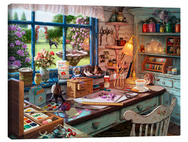 Lienzo  25512 Grandmas Craft Shed Ravensburger Crop 2 - Steve Read