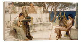 Lawrence Alma-Tadema - Sappho and Alcaeus