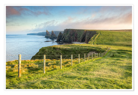 Póster Duncansby Stacks Scotland