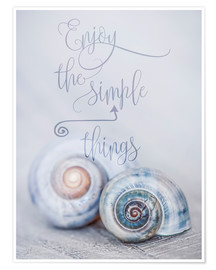 Póster  Simple Things - Andrea Haase Foto