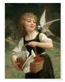 Póster  Messenger of Love - Emile Munier