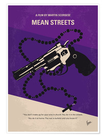 Póster Mean Streets
