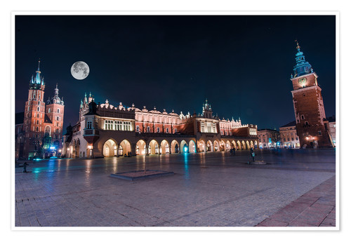 Póster World Famous Cracow Main Square