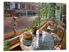 Cuadro de metacrilato  Greenwich Cafe - Johnny Morant