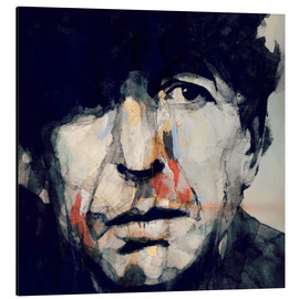 Aluminio-Dibond  Leonard Cohen - Paul Lovering Arts