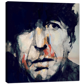 Lienzo  Leonard Cohen - Paul Lovering Arts