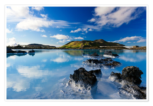 Póster Blue Lagoon in Iceland