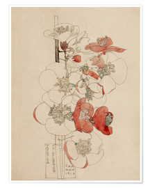 Póster  Japonica - Charles Rennie Mackintosh