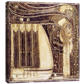 Lienzo  The Opera of the Sea - Margaret MacDonald Mackintosh