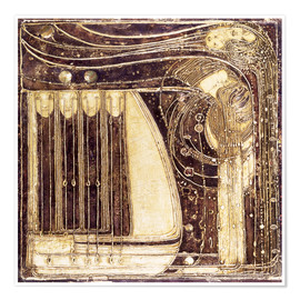 Póster  La ópera del Mar - Margaret MacDonald Mackintosh