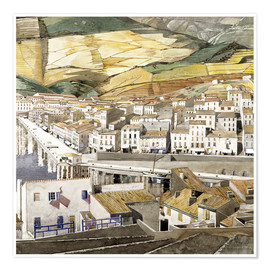 Póster  Puerto Vendres - Charles Rennie Mackintosh