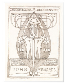 Póster Design for a Bookplate