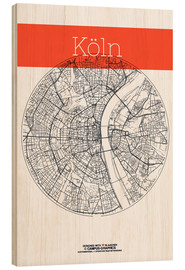 campus graphics - Cologne city map